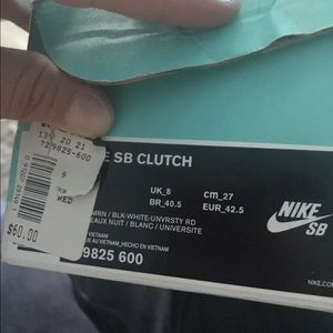 Nike Sb clutch shoes